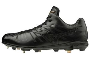11GM201000255 ミズノ 野球スパイク(ブラック×ブラック・サイズ:25.5cm) mizuno グローバルエリートPS2 ユニセックス