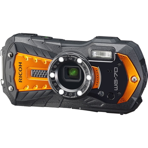 WG-70OR リコー デジタルカメラ「RICOH WG-70」(オレンジ) RICOH
