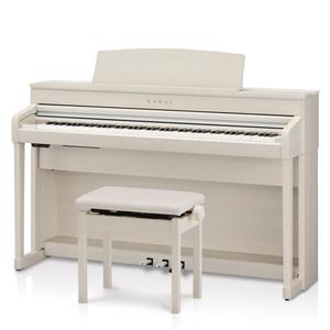 CA79A カワイ 電子ピアノ(プレミアムホワイトメープル調)【高低自在椅子&ヘッドホン&楽譜集付き】 KAWAI Concert Artist SERIES