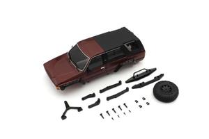 ボディセット MX-01 信用 トヨタ 新作送料無料 4ランナー メタリックレッド MXB02MR 京商 ラジコン用