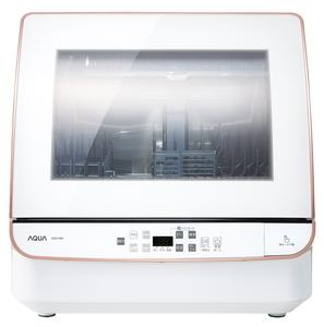 最安値に挑戦 ADW-GM2-W アクア 食器洗い機 ホワイト 送風乾燥機能付き ADWGM2W AQUA 食洗機 サービス