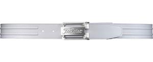 AABT01-WT タイトリスト ツアーバックルベルト(ホワイト・4cm幅・100cm対応) Titleist