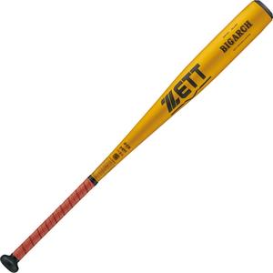 Z-BAT11983-5301 ゼット 硬式野球用金属バット(イエローゴールド・83cm) ZETT BIGARCH(ビッグアーチ)