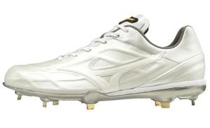 11GM190001255 ミズノ 野球スパイク(ホワイト×ホワイト・サイズ:25.5cm) mizuno ミズノプロQS ユニセックス