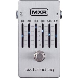 【250円OFF■当店限定クーポン 5/1 23:59迄】M109S MXR 6バンド・グラフィックイコライザー Six Band Graphic EQ