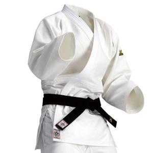 22JM5A15012.5B ミズノ 選手用 柔道衣(新規格)上衣のみ(ホワイト・サイズ:B体・2.5B号) 全柔連・IJF新規格基準モデル