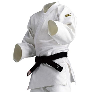 22JM5A18014B ミズノ 選手用 柔道衣(新規格)上衣のみ(ホワイト・サイズ:B体・4B号) 全柔連・IJF新規格基準モデル