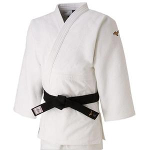 22JA8A01014Y ミズノ ユニセックス 柔道衣(新規格)上衣のみ(ホワイト・サイズ:Y体・4Y号) 全柔連・IJF新規格基準モデル
