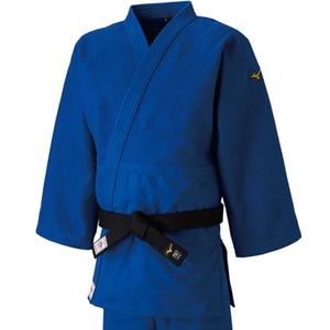 22JA8A01273Y ミズノ ユニセックス 柔道衣(新規格)上衣のみ(ブルー・サイズ:Y体・3Y号) 全柔連・IJF新規格基準モデル