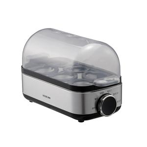 オンラインショップ KES-0400-S コイズミ エッグスチーマー KES0400S 超激安 KOIZUMI シルバー