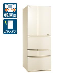 (標準設置料込)GR-S600FZ-ZC 東芝 601L 6ドア冷蔵庫(ラピスアイボリー) TOSHIBA VEGETA FZシリーズ [GRS600FZZC]