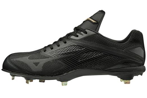 11GM191000280 ミズノ 野球スパイク(ブラック×ブラック・サイズ:28.0cm) mizuno GEハイストQS ユニセックス