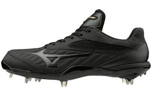 11GM191100265 ミズノ 野球スパイク(ブラック×ブラック・サイズ:26.5cm) mizuno グローバルエリートQS ユニセックス
