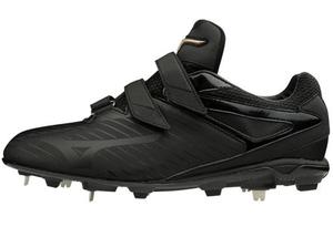 11GM191300255 ミズノ 野球スパイク(ブラック×ブラック・サイズ:25.5cm) mizuno GEキャンバー PS BLT ユニセックス