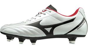 P1GC192609255 ミズノ サッカー スパイク(スーパーホワイトパール×ブラック×レッド・25.5cm) MIZUNO モナルシーダ NEO SELECT SI ユニセックス