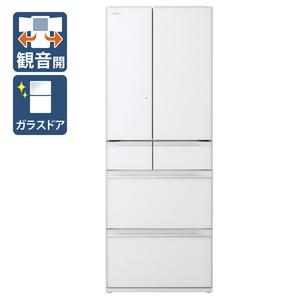 (標準設置料込)R-HW60N-XW 日立 602L 6ドア冷蔵庫(クリスタルホワイト) HITACHI HWシリーズ [RHW60NXW]
