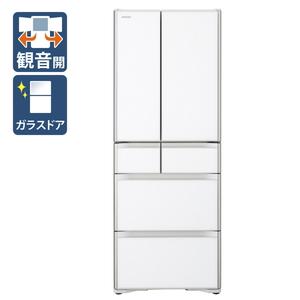 (標準設置料込)R-X48N-XW 日立 475L 6ドア冷蔵庫(クリスタルホワイト) HITACHI Xタイプ [RX48NXW]