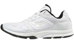 11GT192001285 ミズノ 野球用トレーニングシューズ(ホワイト×ホワイト・サイズ:28.5cm) mizuno ミズノユーティリティトレーナー ユニセックス