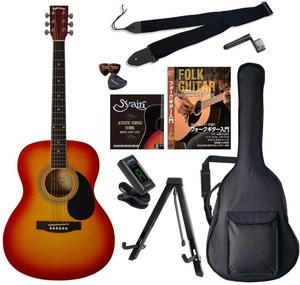 お買得 FG-10 CSエントリ-セツト セピアクルー アコースティックギター チェリーサンバースト Sepia 送料無料でお届けします エントリーセット Crue