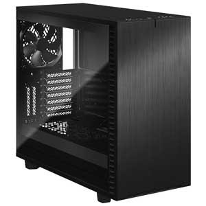 FD-C-DEF7A-02 Fractal Design E-ATX、ATX、microATX、Mini-ITX対応 ミドルタワーPCケース(ブラック)【強化ガラス(ライト)】 Define 7 Black TG Light Tint