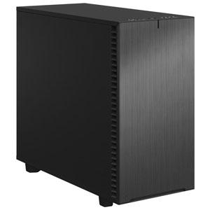 FD-C-DEF7A-07 Fractal Design E-ATX、ATX、microATX、Mini-ITX対応 ミドルタワーPCケース(グレー) Define 7 Solid