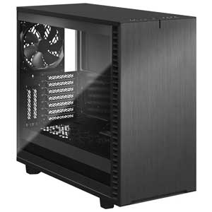 FD-C-DEF7A-08 Fractal Design E-ATX、ATX、microATX、Mini-ITX対応 ミドルタワーPCケース(グレー)【強化ガラス(ライト)】 Define 7 Gray TG Light Tint