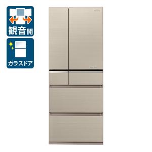 (標準設置料込)NR-F476XPV-N パナソニック 470L 6ドア冷蔵庫(マチュアゴールド) Panasonic XPVタイプ [NRF476XPVN]