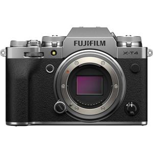 FX-T4-S 富士フイルム ミラーレス一眼カメラ「FUJIFILM X-T4」ボディ(シルバー)