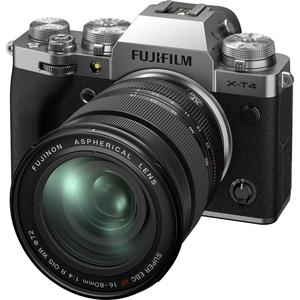 FX-T4LK-1680-S 富士フイルム ミラーレス一眼カメラ「FUJIFILM X-T4」レンズキット(シルバー)