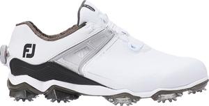 55413W26 フットジョイ メンズ・ゴルフシューズ (ホワイト×ブラック・サイズ:26.0cm) footjoy ツアー X BOA