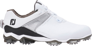 55413W27 フットジョイ メンズ・ゴルフシューズ (ホワイト×ブラック・サイズ:27.0cm) footjoy ツアー X BOA