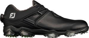 55414W25 フットジョイ メンズ・ゴルフシューズ (ブラック×ライム・サイズ:25.0cm) footjoy ツアー X BOA