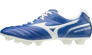 P1GA202401255 ミズノ サッカー スパイク(ブルー×ホワイト・サイズ:25.5cm) MIZUNO モナルシーダ NEO SW ユニセックス