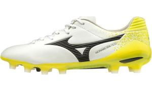 P1GA202209260 ミズノ サッカー スパイク(ホワイト×ブラック×イエロー・サイズ:26.0cm) MIZUNO モナルシーダ NEO PRO ユニセックス