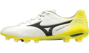 P1GA202209265 ミズノ サッカー スパイク(ホワイト×ブラック×イエロー・サイズ:26.5cm) MIZUNO モナルシーダ NEO PRO ユニセックス