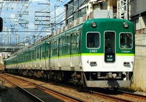 [鉄道模型]グリーンマックス (Nゲージ) 30328 京阪2400系(1次車・2451編成・新塗装)基本4両編成セット(動力付き)