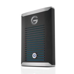 【100円OFF?当店限定クーポン 6/20 23:59迄】0G10312-1 ウエスタンデジタル Thunderbolt 3対応 外付けポータブルSSD 2.0TB G-Drive Mobile Pro SSD