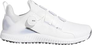 AD20SS-EE9153-280 アディダス メンズ・スパイクレス・ゴルフシューズ(ホワイト/コアブラック/クリスタルホワイト・28.0cm) adidas アディクロス バウンス ボア2