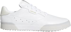 AD20SS-EE9162-255 アディダス メンズ・スパイクレス・ゴルフシューズ(ホワイト/ゴールドメタリック/クリスタルホワイト・25.5cm) adidas アディクロス レトロ