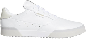 AD20SS-EE9162-250 アディダス メンズ・スパイクレス・ゴルフシューズ(ホワイト/ゴールドメタリック/クリスタルホワイト・25.0cm) adidas アディクロス レトロ