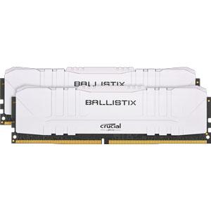BL2K32G36C16U4W Crucial PC4-28800 (DDR4-3600)288pin UDIMM 64GB(32GB×2枚)【ホワイト】 Ballistix White