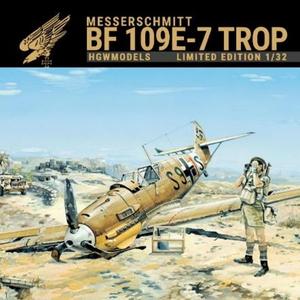 1/32 Bf109E-7 トロピカル リミテッドエディション【HGW103201】 HGW