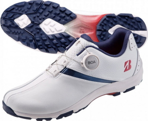 5%OFF SHG010-TR-240 ブリヂストンゴルフ レディース スパイクレス ゴルフシューズ トリコロール 24.0cm GOLF バイター スパイク レディ ゼロ ライト 誕生日 お祝い BRIDGESTONE