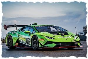 1/43 ランボルギーニ ウラカン スーパートロフェオ EVO 2018 (ヴェルデマンティス (デカール付))【EM404B】 メイクアップ