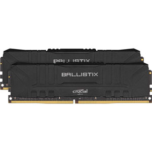 BL2K16G36C16U4B Crucial PC4-28800 (DDR4-3600)288pin UDIMM 32GB(16GB×2枚)【ブラック】 Ballistix Black