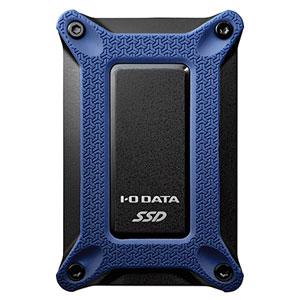 SSPG-USC500NB I/Oデータ USB 3.1 Gen 2 Type-C対応 ポータブルSSD 500GB SSPG-USCBシリーズ