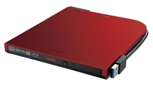BRXL-PTV6U3-RDA バッファロー USB 3.2(Gen 1)対応 ポータブルBDドライブ(レッド) BUFFALO