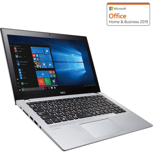 PC-VKT16BE7HC84ZDZZY NEC 12.5型モバイルノートPC VersaPro UltraLite タイプVB【ビジネスモデル】 [Core i5/メモリ 4GB/SSD 256GB/Microsoft Office 2019]