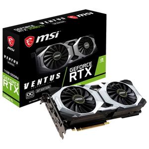 【100円OFF?当店限定クーポン 6/20 23:59迄】RTX 2080 TI VENTUS G MSI PCI Express 3.0 x16対応 グラフィックスボードMSI GeForce RTX 2080 Ti VENTUS GP OC