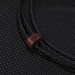 STR7ER335LADB ブリスオーディオ イヤホンリケーブル(1.2m)【A2DC⇒3.5mm3極(アンバランス)L型プラグ】 Brise Audio《STR7-Ref.》
